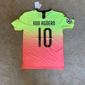NEW Kun Aguero Manchester City Third 2020 Jersey